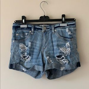 Vintage Havana Distressed Shorts